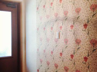 「チューリップの玄関」